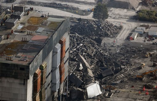 Didcot Powers Station Collapse