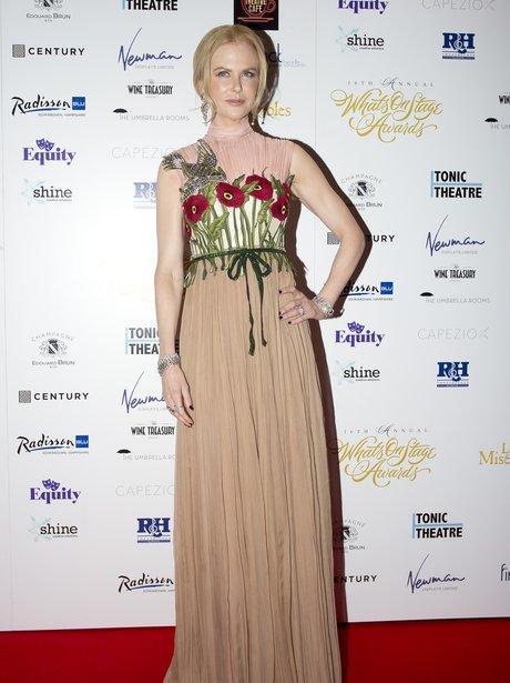 Nichole Kidman WhatsOnStage Awards