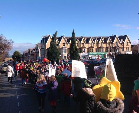 Colwyn Bay St David's Day