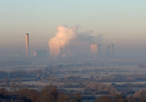 Didcot Power station dust
