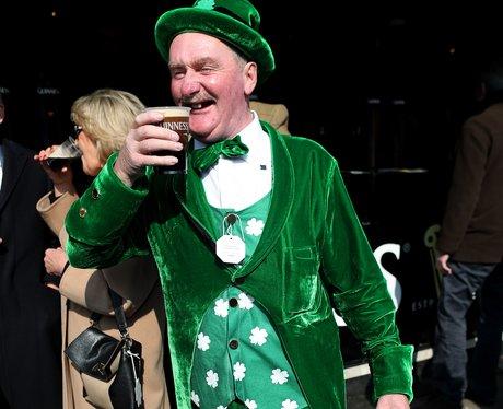 Cheltenham Festival 2016 - St Patricks Thursday