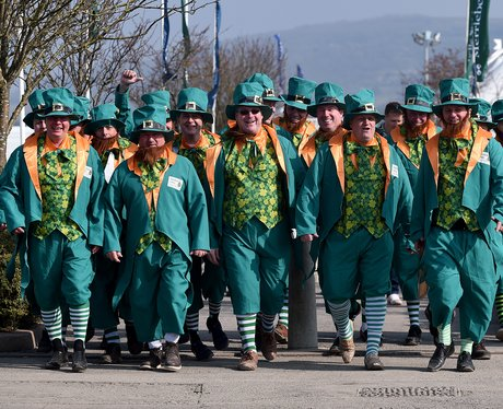 Cheltenham Festival 2016 - St Patricks Thursday