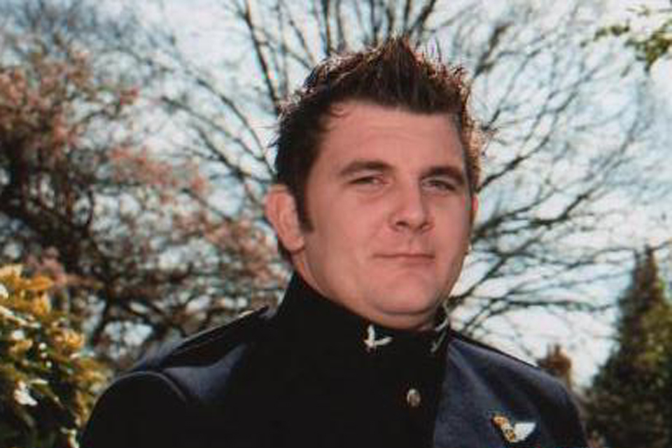 MOD Corporal James Walters