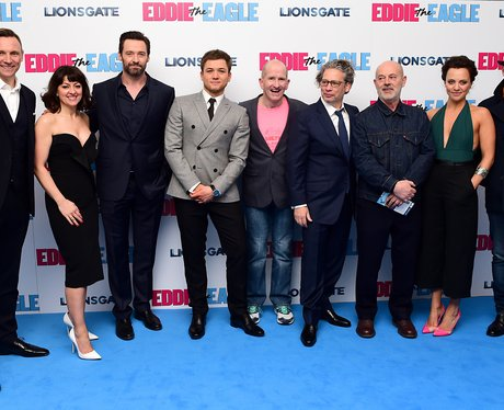 Eddie the Eagle European Premiere - London