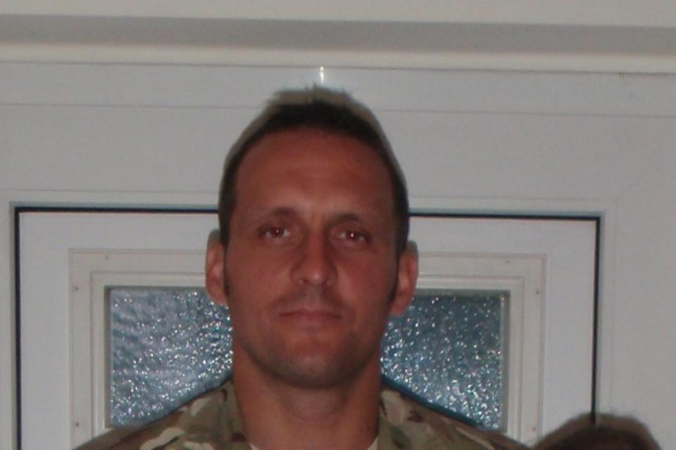 Warrant Officer Class 2 Spencer Faulkner MOD