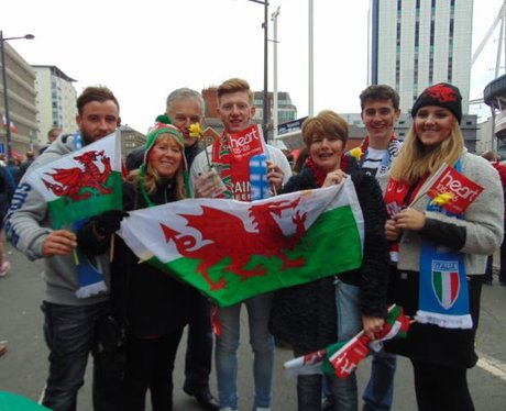 We Heart Wales: Wales v Italy 6 Nations!