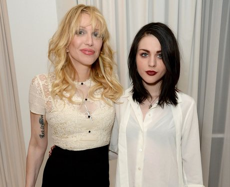 Courtney Love and daughter Frances Bean Cobain