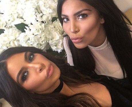Kim Kardashian and her doppleganger Kamilla Osman