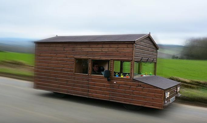 World's Fastest Shed Does 88 MPH