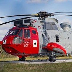 771 Squadron Sea King at RNAS Culdrose
