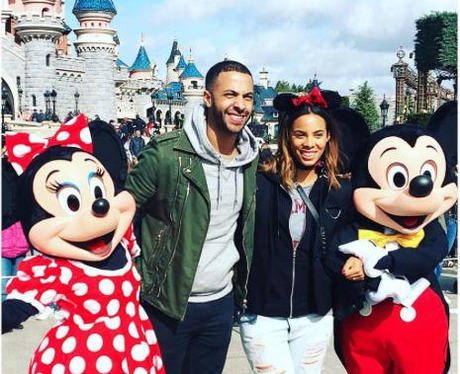 Marvin and Rochelle Humes Disneyland