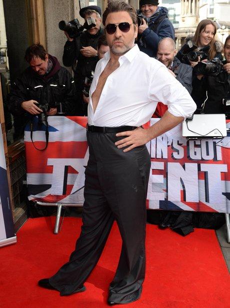 David Walliams dress as Simon Cowell for BGT