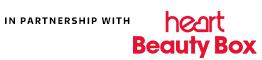 Heart Beauty Box Sponsorship Strip