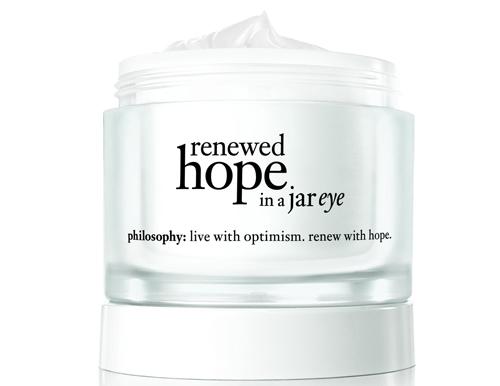 Philosophy Renewed Hope in a Jar Cropped