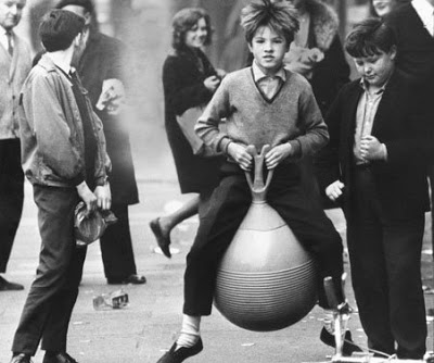 Child on a Space Hopper