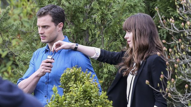 Has Filming For The Third Fifty Shades Already Begun New Picture