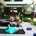Image 9: Drew Barrymore and her daughter doing yoga