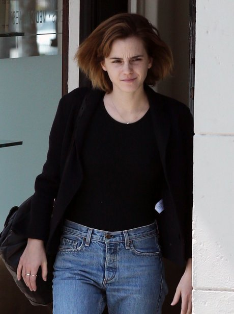 Emma Watson without make up