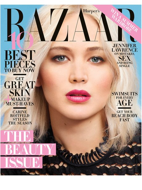 Harper's Bazaar with Jennifer Lawrence