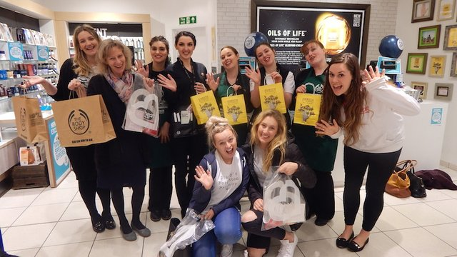 Heart Angels: Pamper Yourself at The Body Shop Barnstaple - Heart