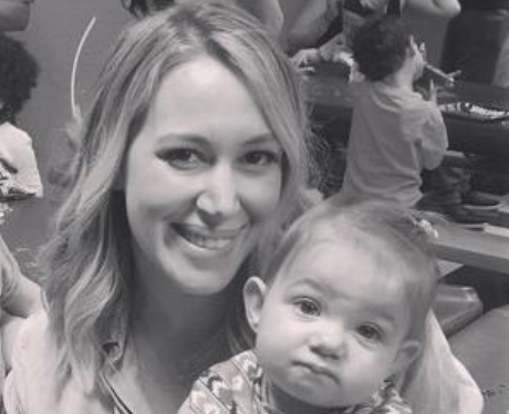 Hilary and Haylie Duff with their babies