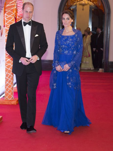 Kate and Prince William visit India