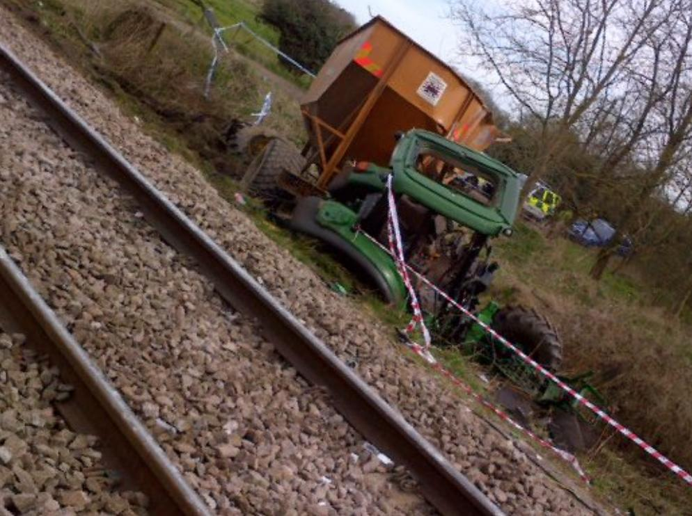 Roudham Train Crash 3