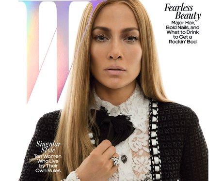 W Magazine with Jennifer Lopez