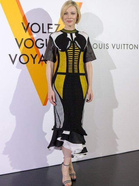 Cate Blanchett Louis Vuitton opening