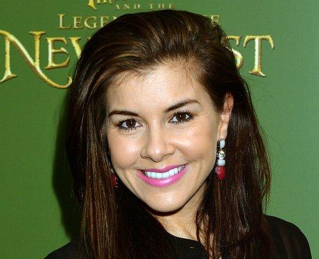 Imogen Thomas smiling