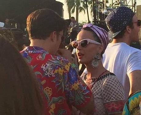 Katy Perry Orlando Bloom Coachella