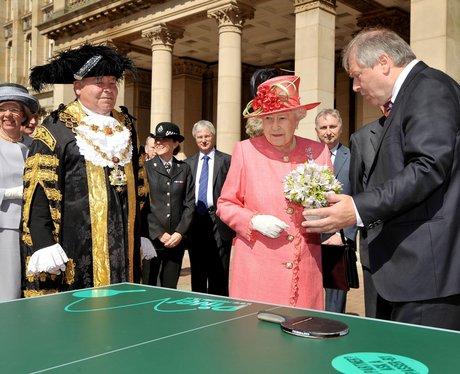 Queen in the West Midlands