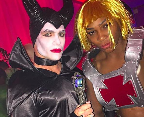 Serena Williams fancy dress