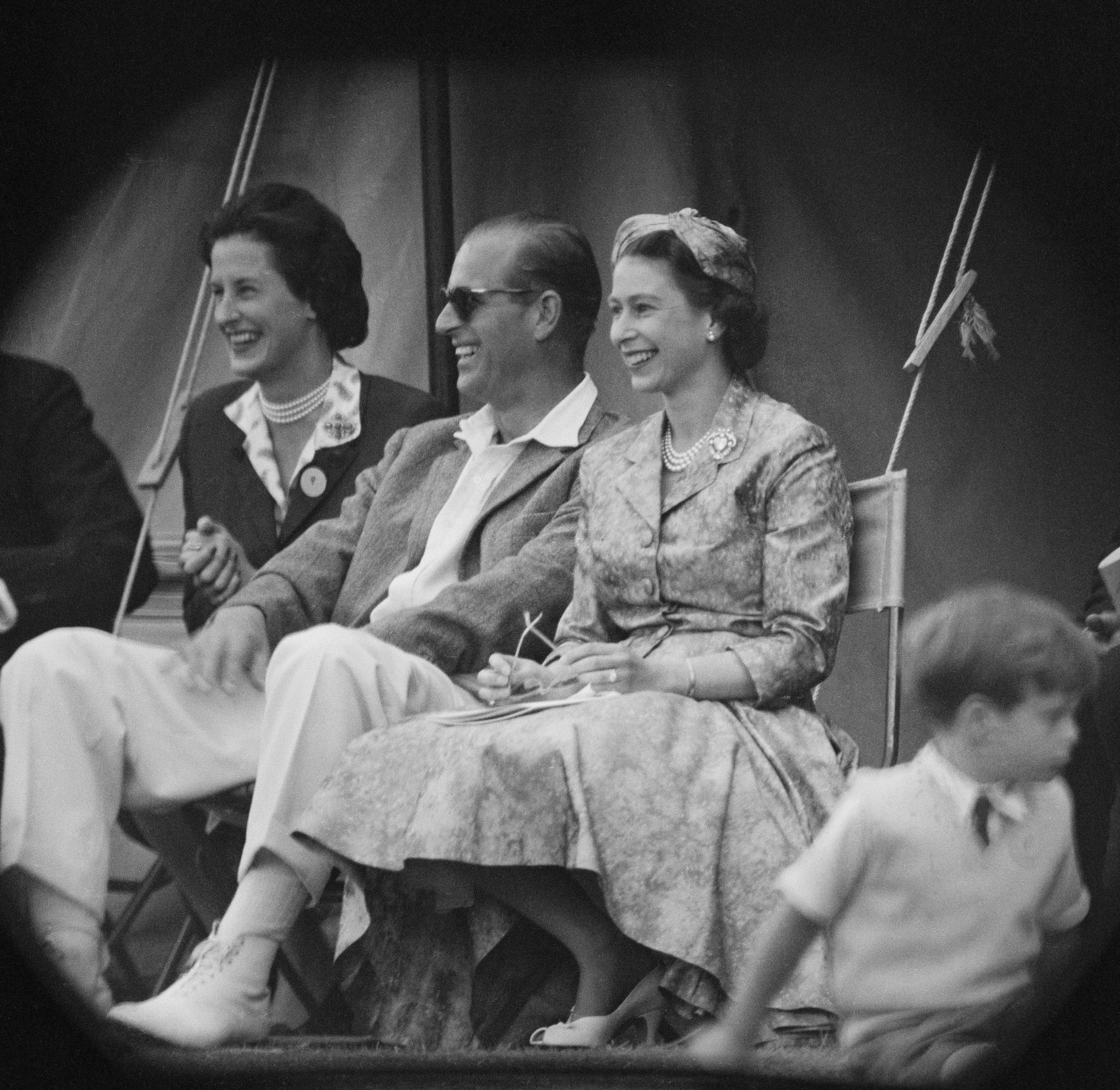 The Princess Elizabeth and the Duke of Edinburgh