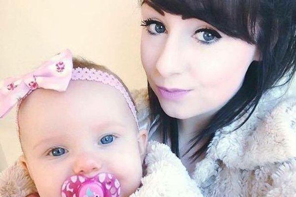 Young mum Lauren Heath with her daughter Millie