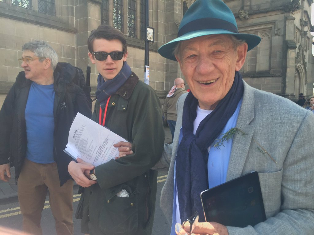 Sir Ian McKellen Shakepeare 400th