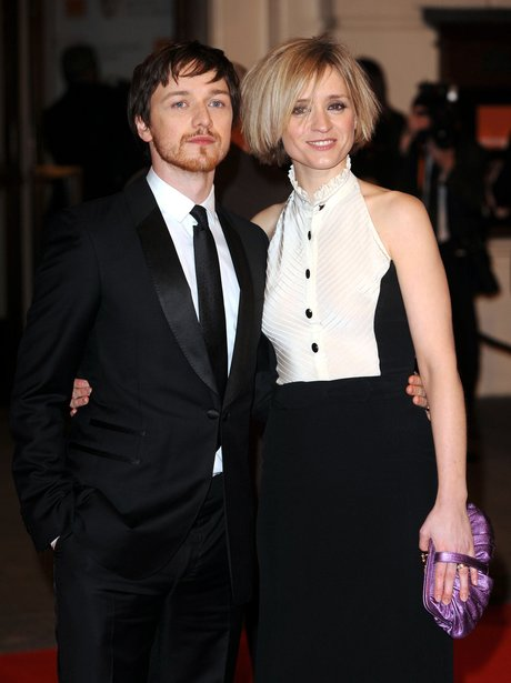 James McAvoy and Ann-Marie Duff
