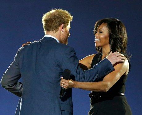 Prince Harry and Michelle Obama Invictus Games