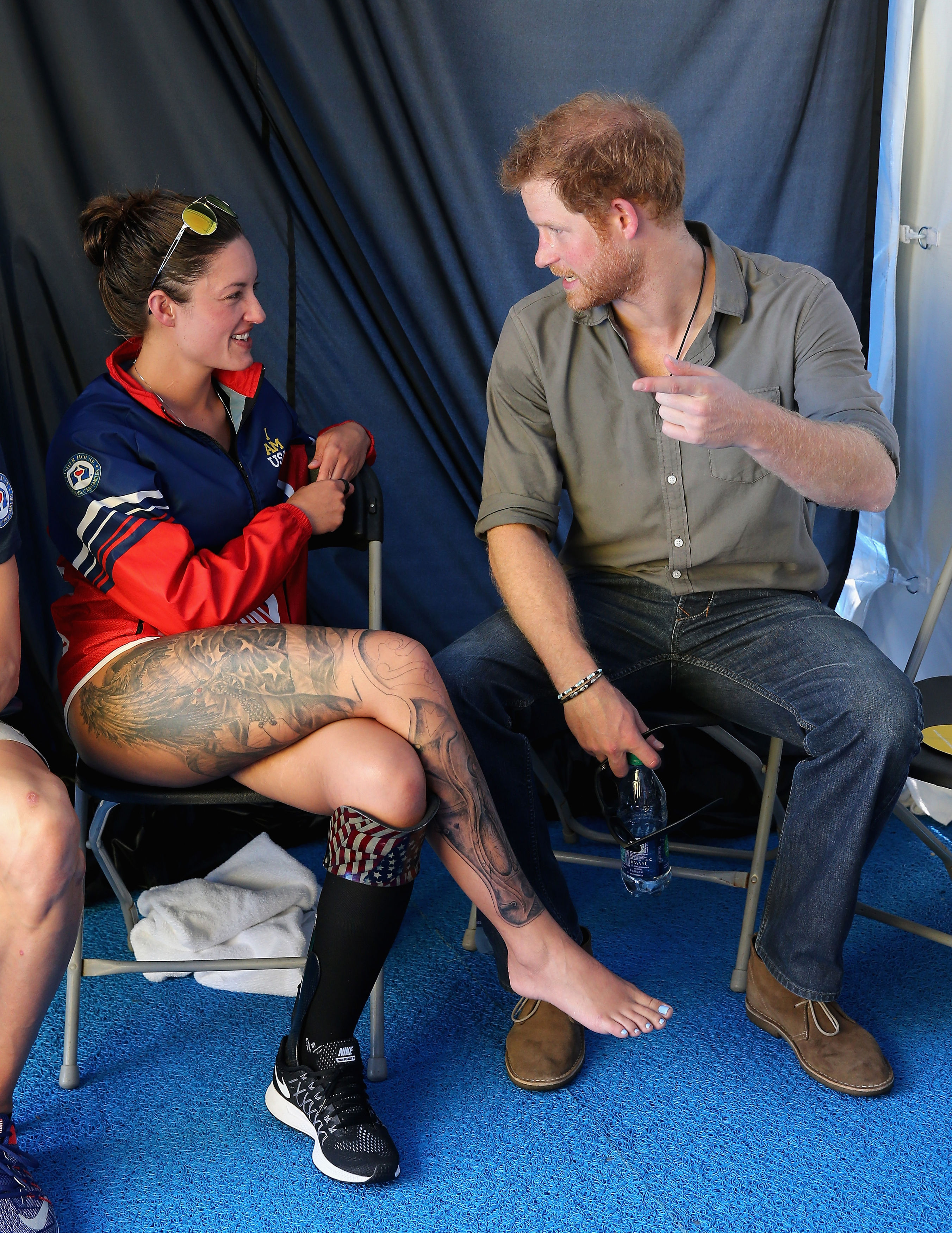 Prince Harry at the Invictus Games 2016