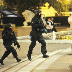 Terror Exercise at Trafford Centre