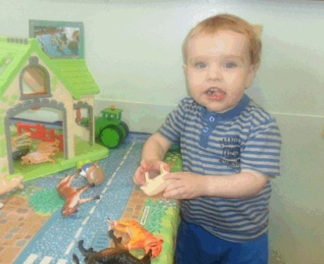 Liam Fee at nursery