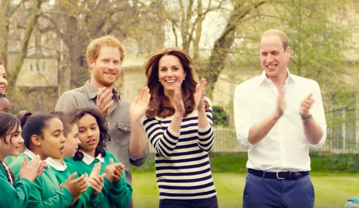 The royals mental health heads together video