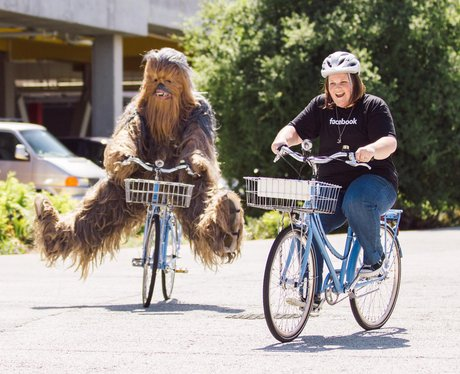 Chewbacca Mum, Candace Payne heads to Facebook HQ