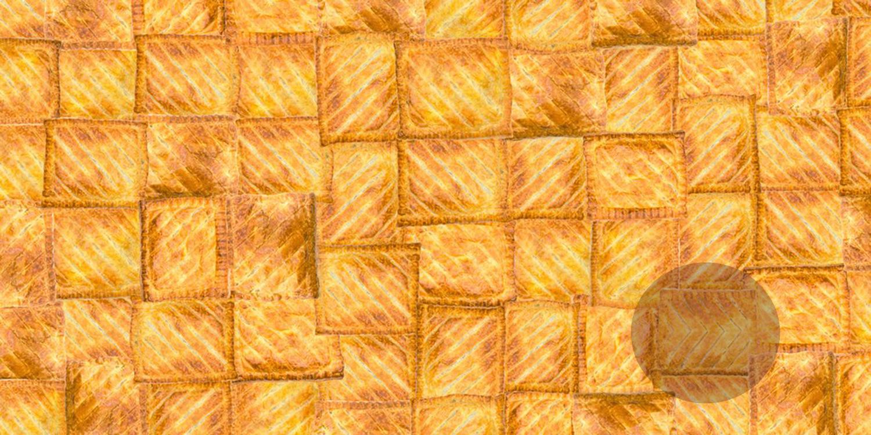 Greggs pasties optical illusion