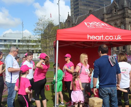 Heart Angels: Race For Life - Middlesbrough 22nd M