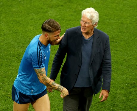 Richard Gere meets Sergio Ramos