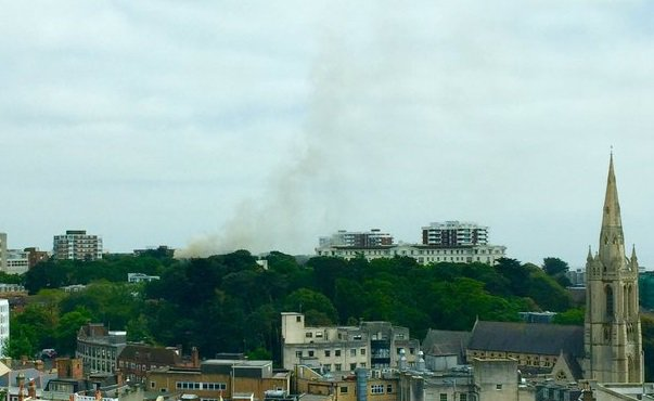 Bournemouth fire Mitch picture