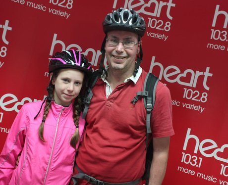 Heart Cycle 2016 for Global's Make Some Noise