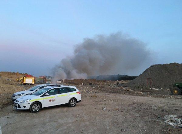 landfill fire ringwood