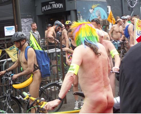 Naked Bike Ride 1